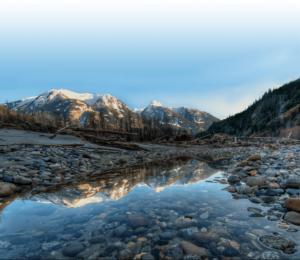 Superbe vue de Squamish, en Colombie-Britannique, Canada